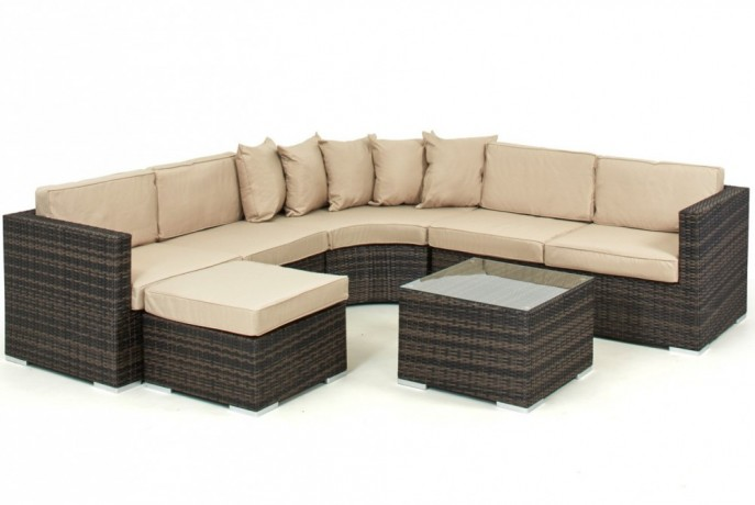new product 5479d 6c738 L shape Sofa Set 7 Seater, Pago Pago